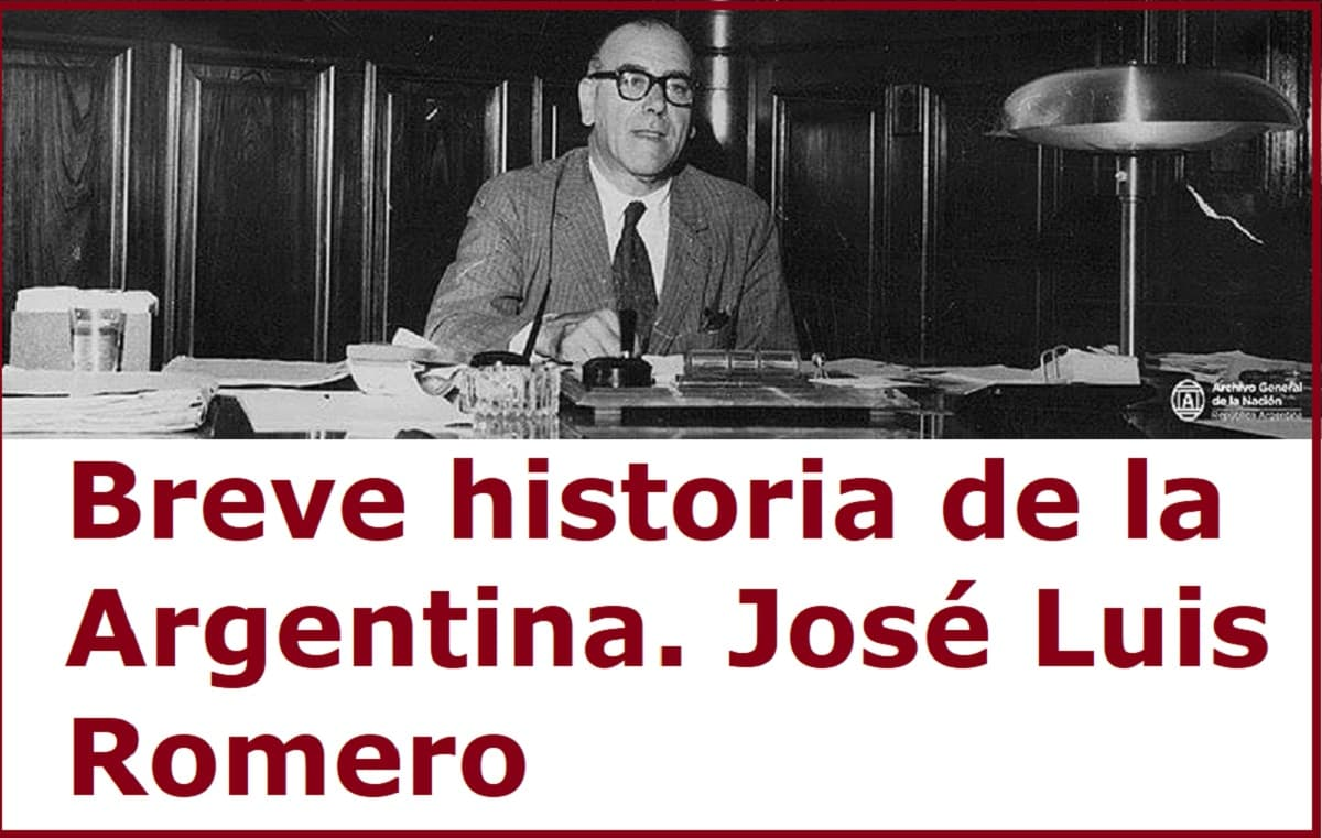 jose luis romero breve historia de la argentina